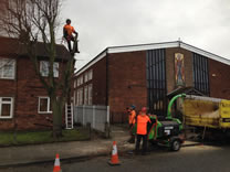 Dismantle Lime road side in Eston
